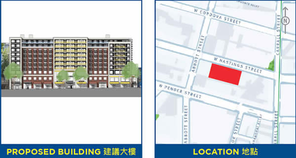 Rezoning Application - 58 West Hastings Street