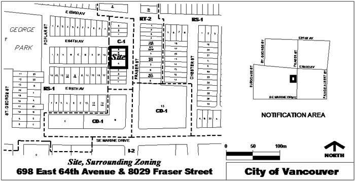 Rezoning And Development Application, 698 East 64th Avenue